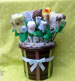Ideal Baby Basket of Gifts for Baby Showers