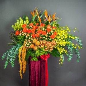 shop flower for grand opening